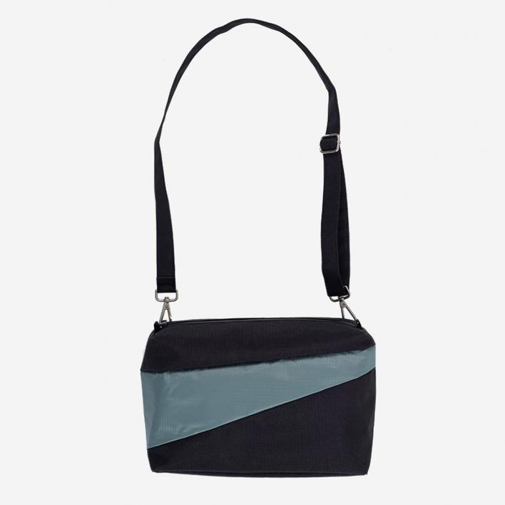 Susan Bijl Bum Bag M Black & Grey