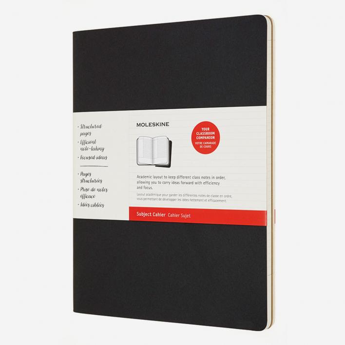 Moleskine Cahier Subject Notebook XXL - Set of 2