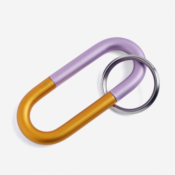 HAY Cane Key Ring Lilac - Schlüsselanhänger