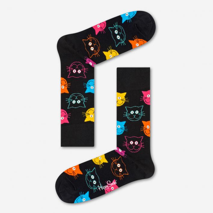 Happy Socks Cat Socken