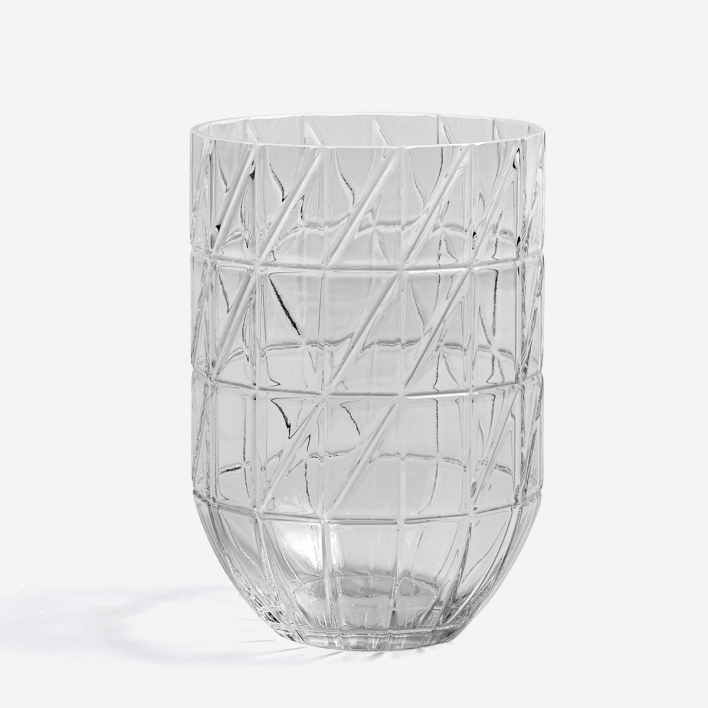 HAY Colour Vase - L Transparent