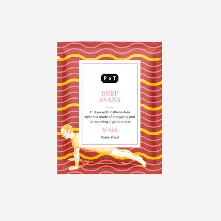 P & T - Paper & Tea Deep Asana - Ayurvedic Blend 6g