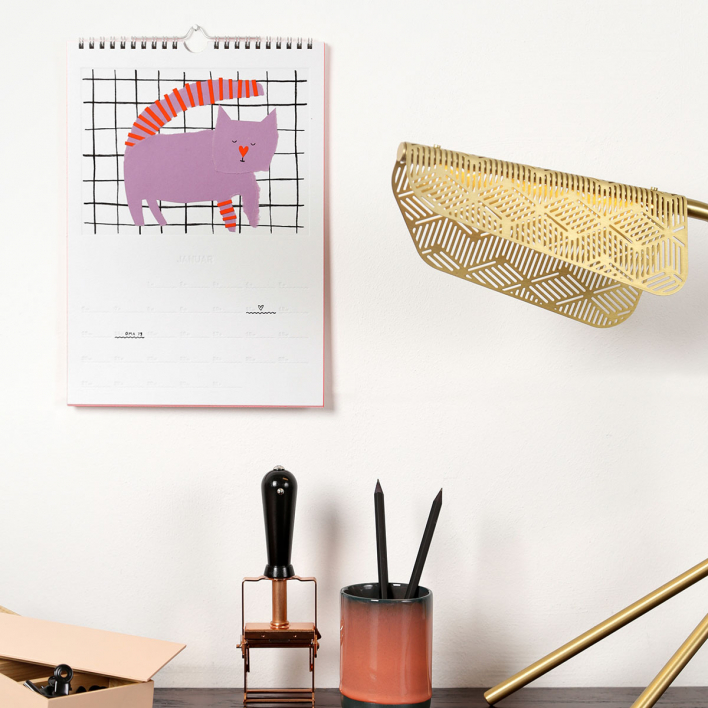rikiki Do It Yourself Calendar 2020 – Wall Calender for your own pictures