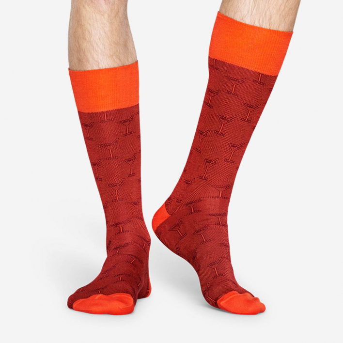 Dressed Dressed Cocktail Sock - Red