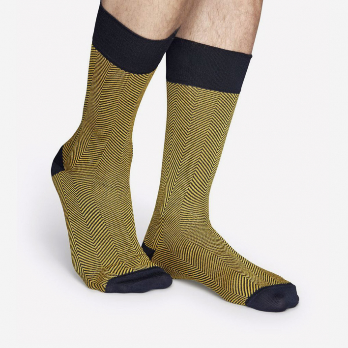 Dressed Dressed Herringbone Sock - Navy