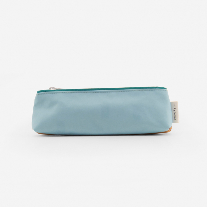 Sticky Lemon Etui Small - Caramel Fudge - Light Blue