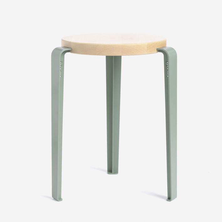 Tiptoe LOU Hocker Eucalyptus Grey | Buche