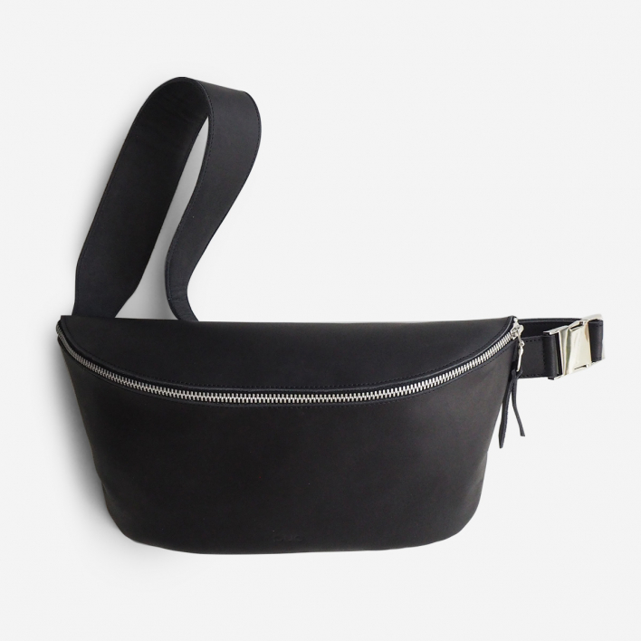 Puc Fanny Pack Black Large Leather