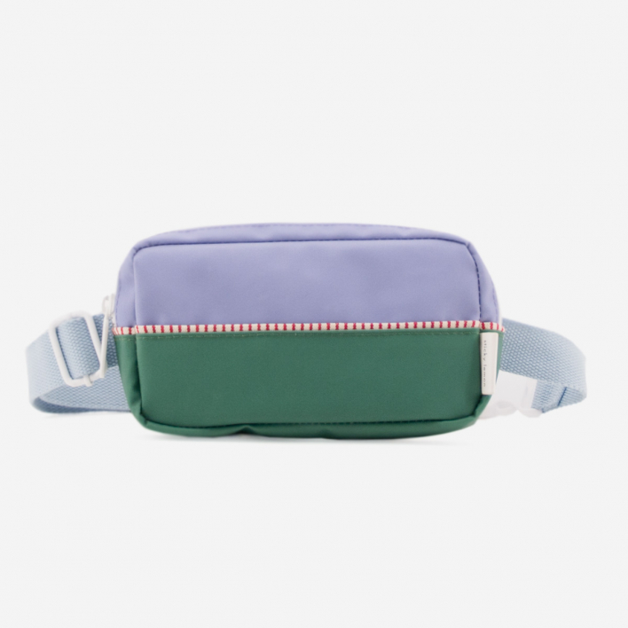 Sticky Lemon Fanny Pack Colour Blocking - Moustafa Purple Movie Green