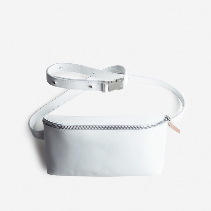 Puc Fanny Pack White Leather