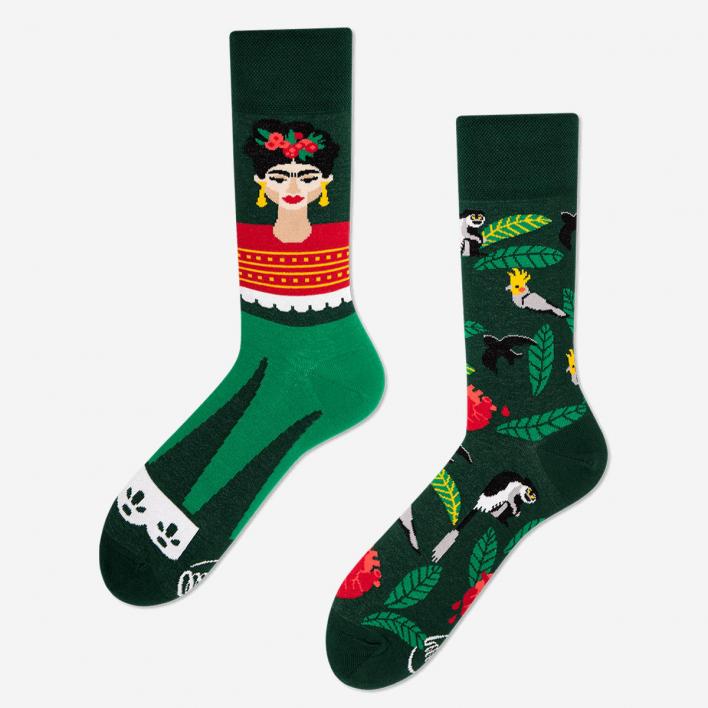 Many Mornings Feel Frida Socks 39-42 39-42