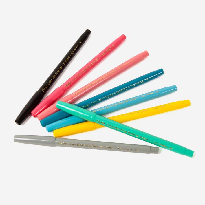 Pentel Fibre Tip Pen Faserschreiber