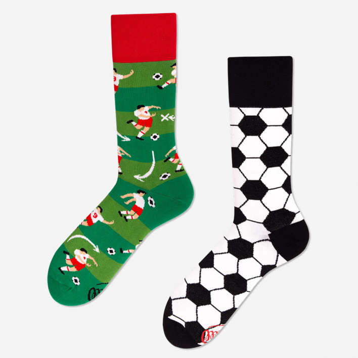 Many Mornings Football Fan Socks