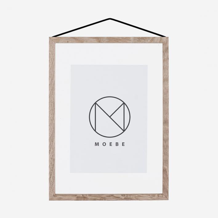 Moebe Frame Oak - Bilderrahmen A4