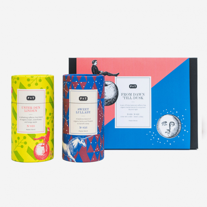 P & T - Paper & Tea From Dawn 'Til Dusk Duo Tee Set in Geschenkbox