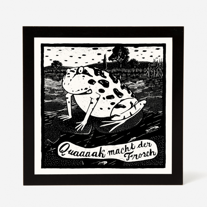 Janta Island Frog Screenprint
