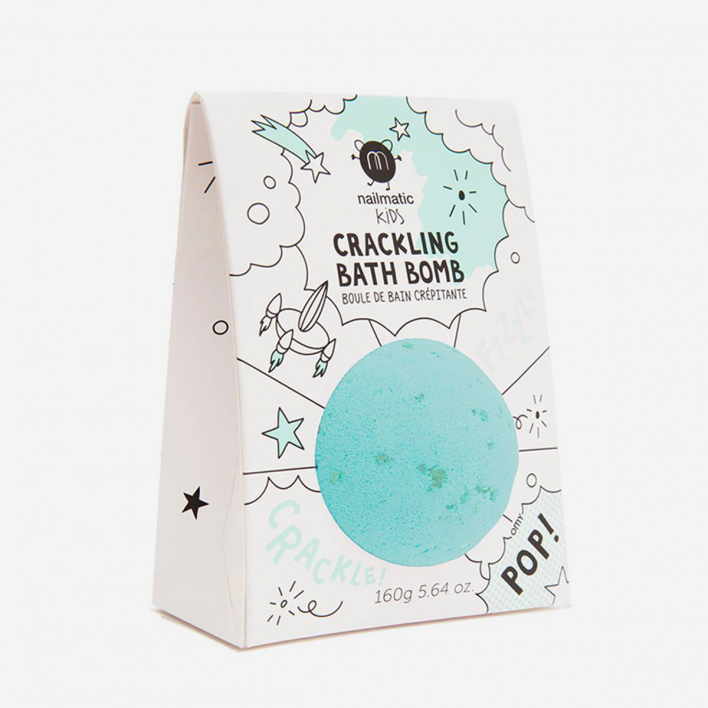 Nailmatic Kids Galaxy Bath Bomb Green Fiz - für ein türkises Bad