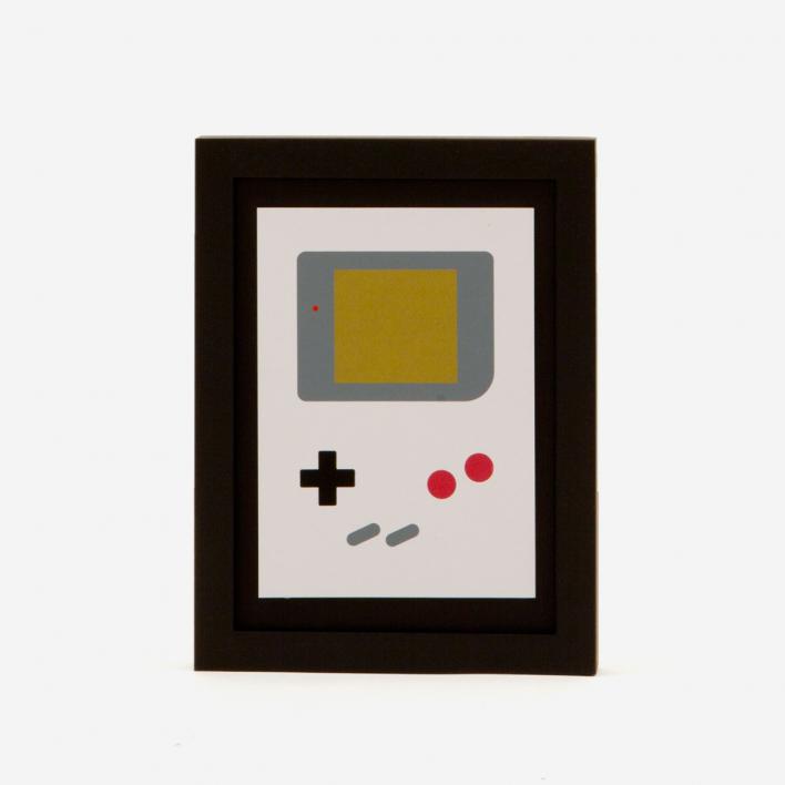 edition rikiki Gameboy Miniprint Screenprint no frame no frame