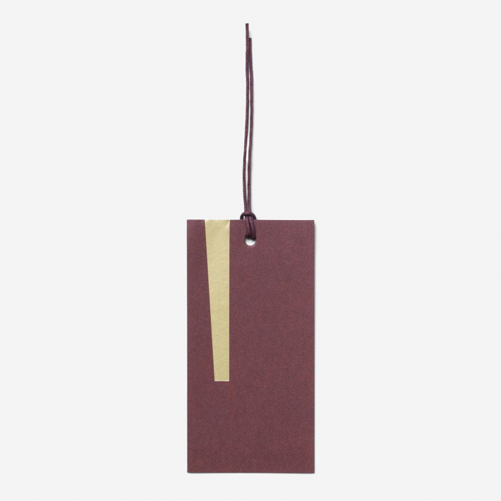 ferm LIVING Gift Tags Art - Bordeaux