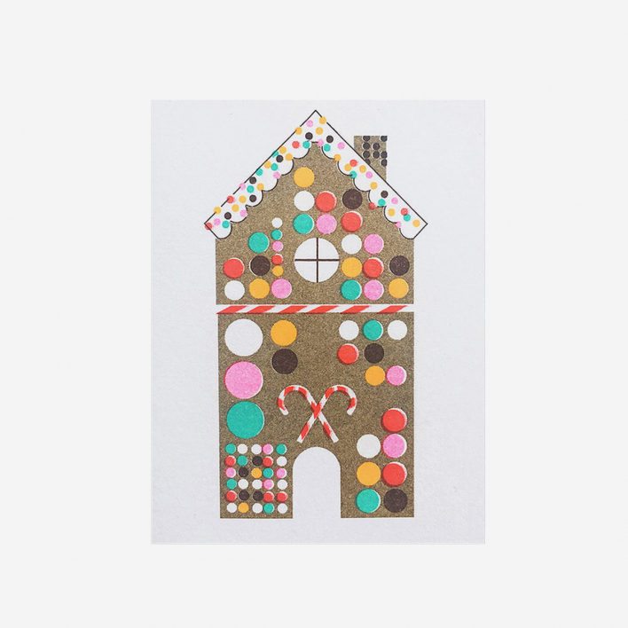 Scout Editions Gingerbread House Mini Grußkarte