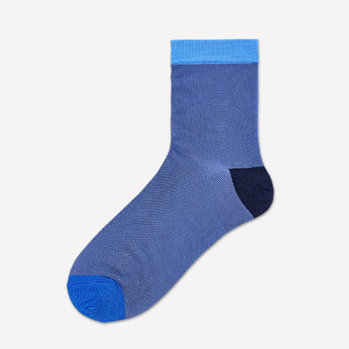 Hysteria by Happy Socks Grace Ankle Socks - Medium Blue