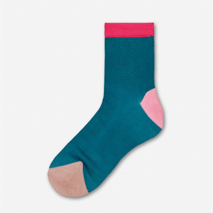 Hysteria by Happy Socks Grace Ankle Socks - Turqoise 39-41 39-41