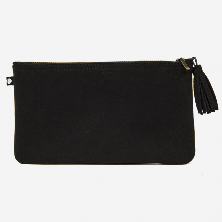 Pikfine Case Emil Large - Nubuck Leather Black