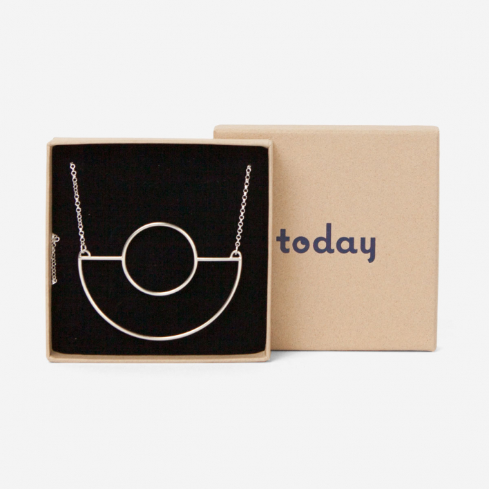 Today Jewellery Maxi Saturn Necklace