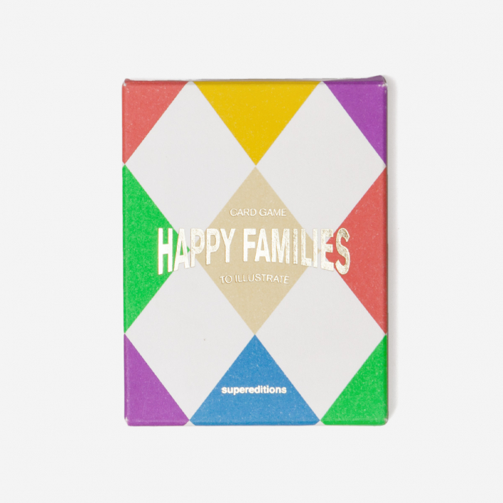 Supereditions Happy Families - Card Game to Illustrate