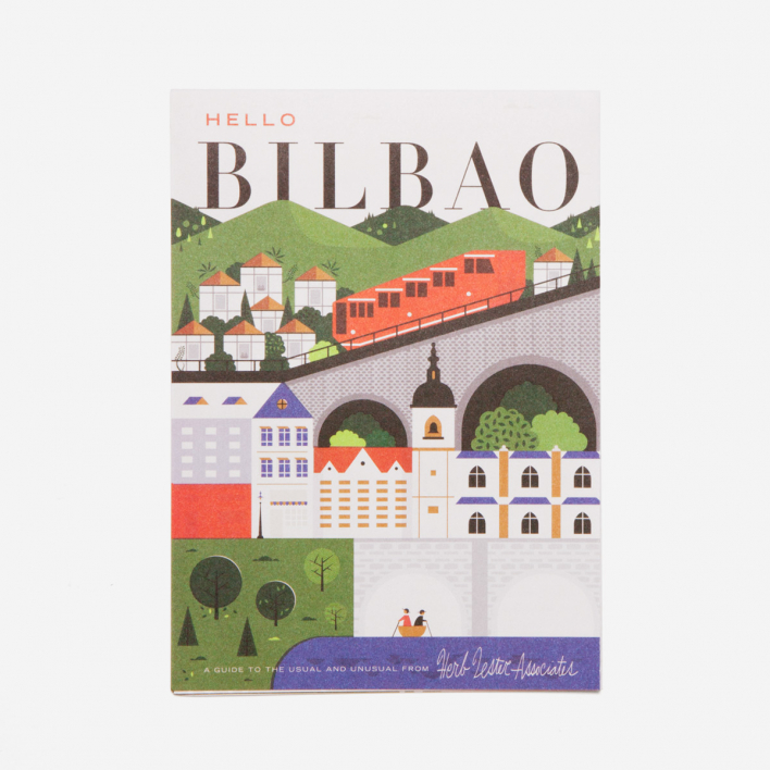 Herb Lester Associates Hello Bilbao City Guide