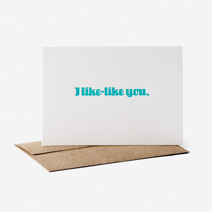 Brain Surgeons & Rocket Scientists I Like-Like You Greeting Card