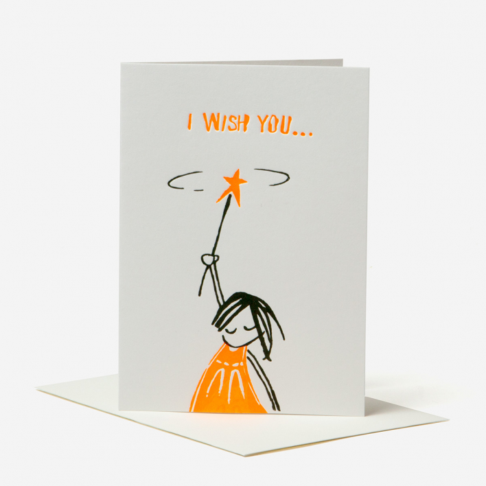 Kikisoso I Wish You Grußkarte
