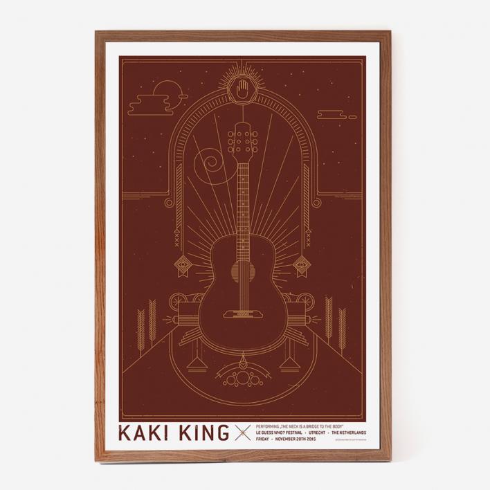 Zum Heimathafen King Kaki Gigposter