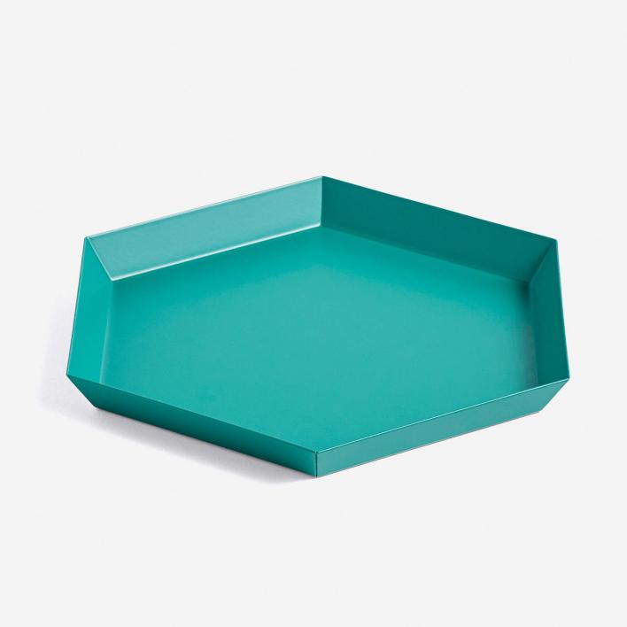 HAY Kaleido Tray S Emerald Green