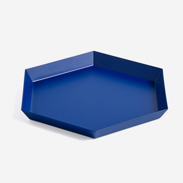 HAY Kaleido Tray S Royal Blue