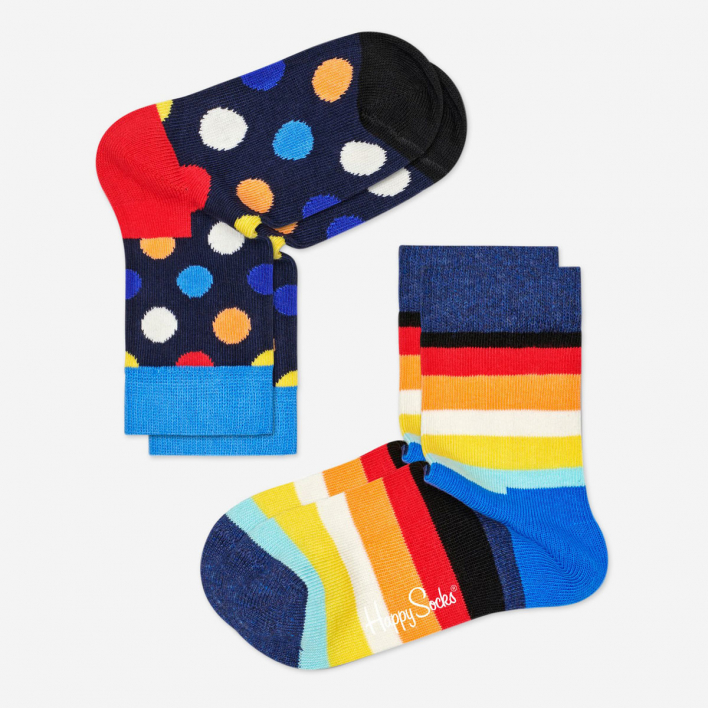 Kids Big Dot Socken Darkblue 2-Pack                          </a>                    </div>                    <div class=