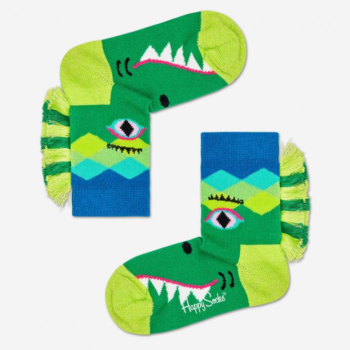 Happy Socks Kids Crazy Crocodile Socks