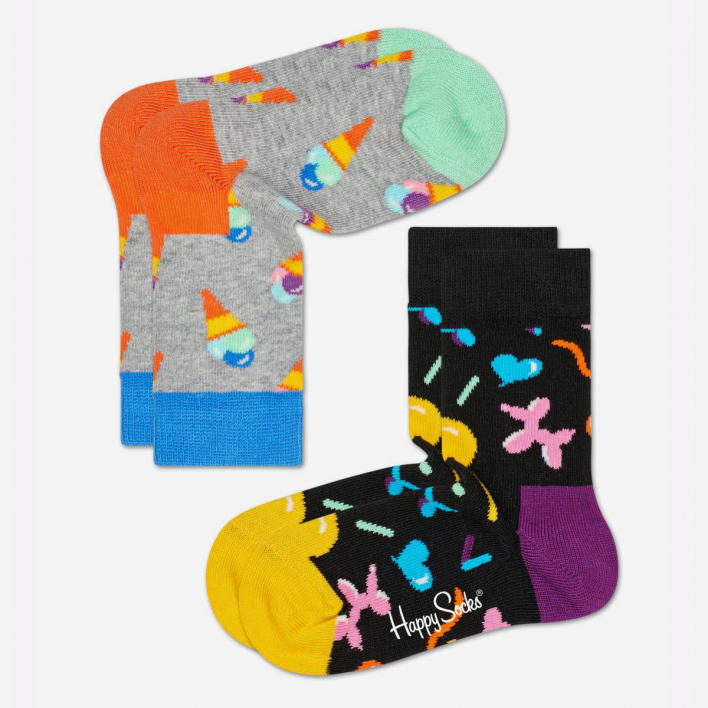 Happy Socks Kids Ice Cream Socken 2-Pack
