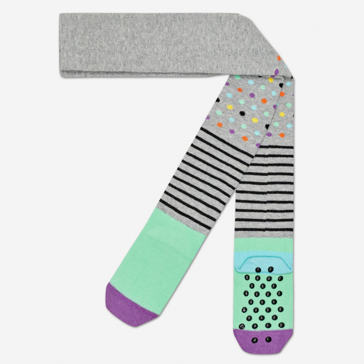 Happy Socks Kids Stripes Dots Anti-Slip Strumpfhose