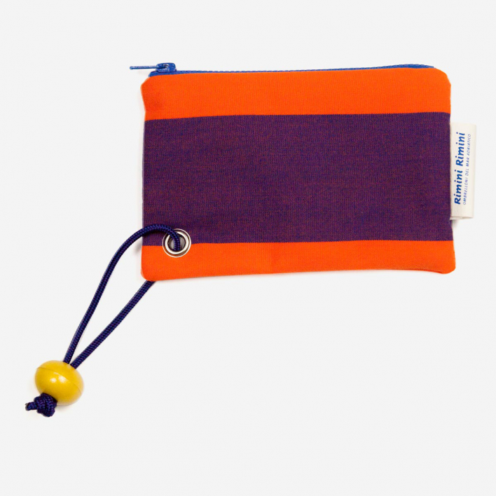 Rimini Rimini Bags Small Pouch Lido Adriano Orange Purple
