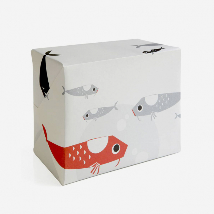 pleased to meet Koi Gift Wrapping Paper