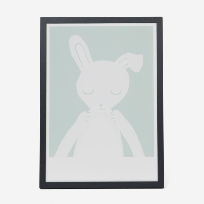 Kikisoso Kunstdruck Hase