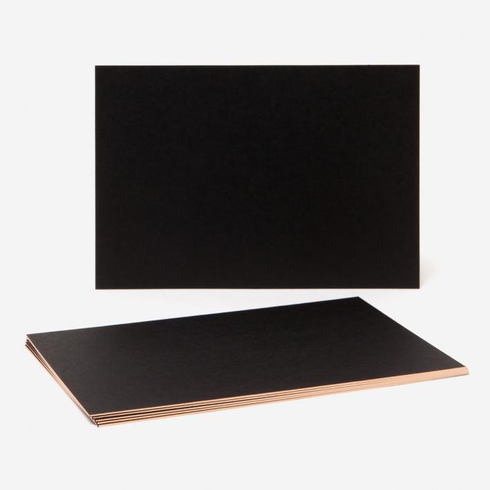 rikiki Kupferschnittkarten Set - A6