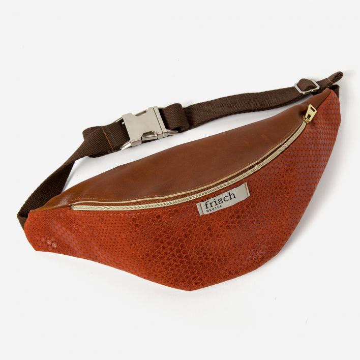 frisch Beutel Lava Fanny Pack Leather