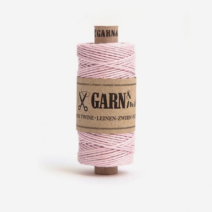 Garn & mehr Leinenzwirn Puder-Rosa