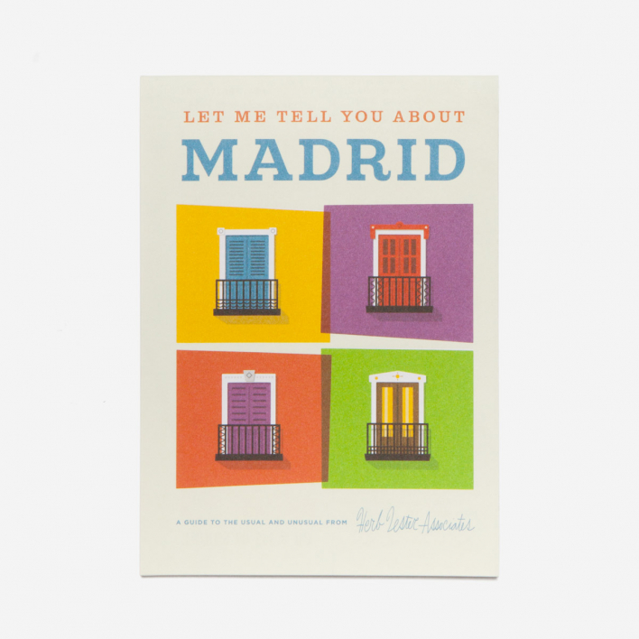 Herb Lester Associates Let Me Tell You About Madrid City Guide