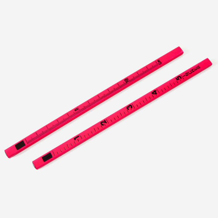 Letterbox Lineal-Bleistift Neon Pink