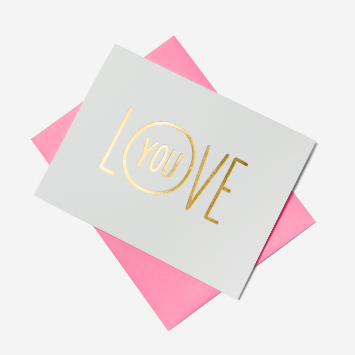 Ashkahn Love You Greeting Card