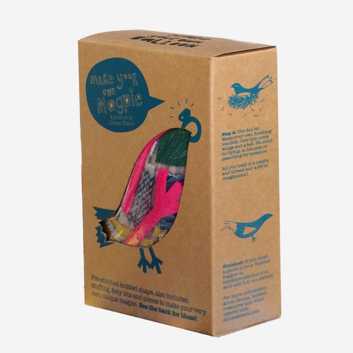 Donna Wilson Make Your Own Magpie Kit - DIY Set