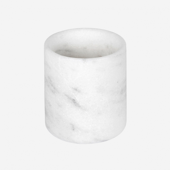 STONED Marble Cup White